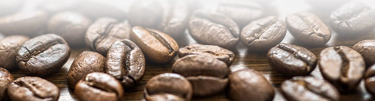 Kaffeeanbaugebiete um den Äquator