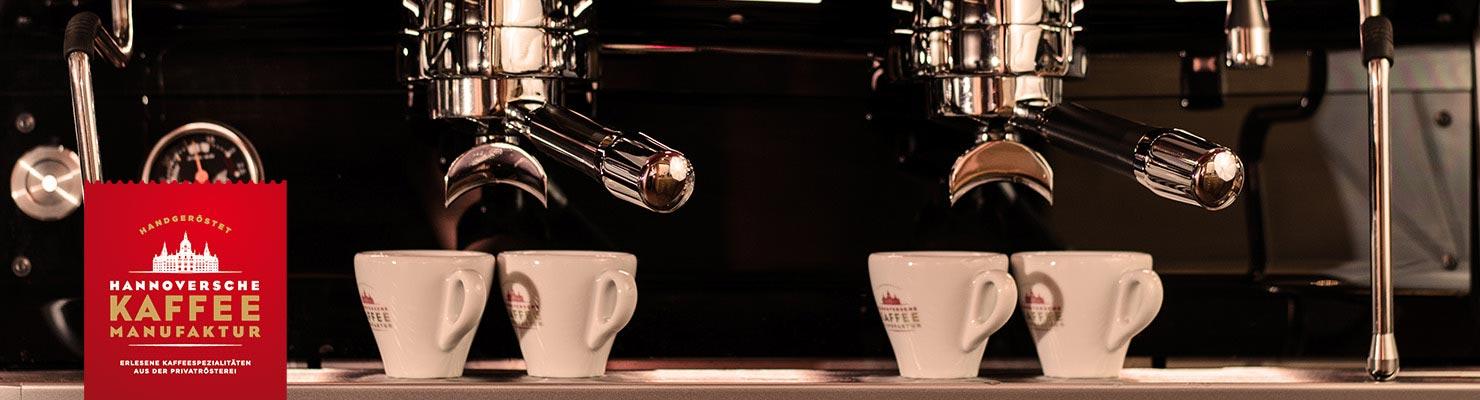 Kaffee der Hannoversche Kaffee Manufaktur