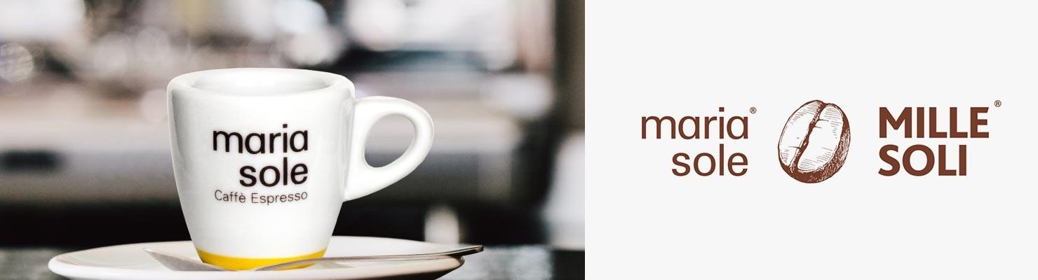 Maria Sole & Mille Soli Kaffee
