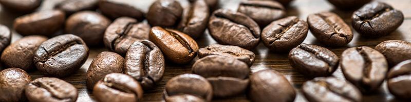 Milde und aromatische Kaffees