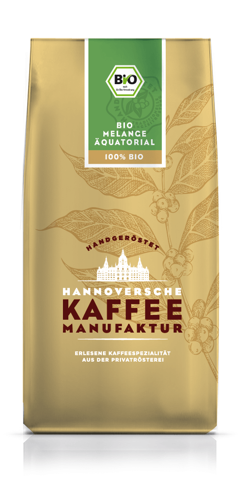Hannoversche Kaffee Manufaktur Bio Melange Äqua...