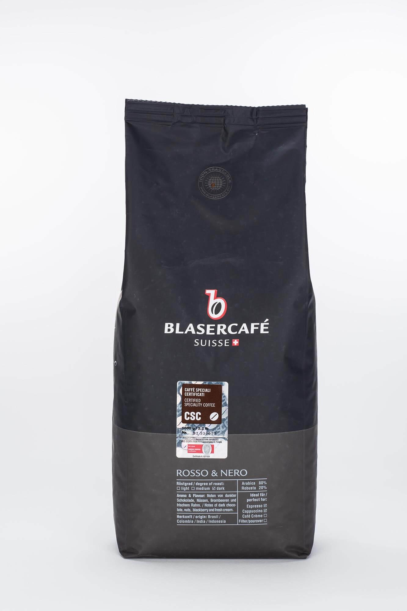 blaser caf rosso e nero 1kg online kaufen roast market. Black Bedroom Furniture Sets. Home Design Ideas
