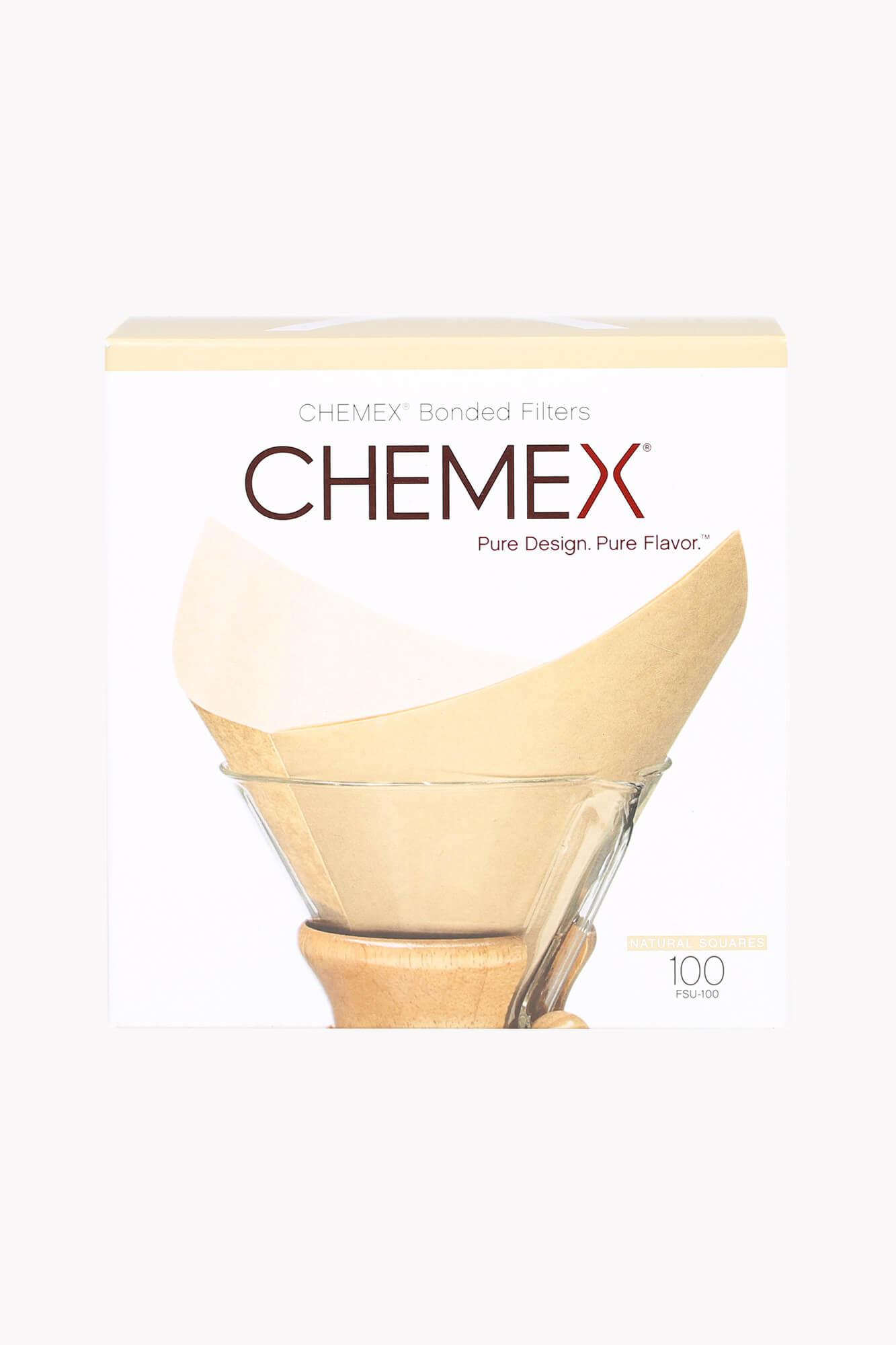 Chemex Filter für 6, 8 und 10 Tassen Karaffe natur 100 Stück