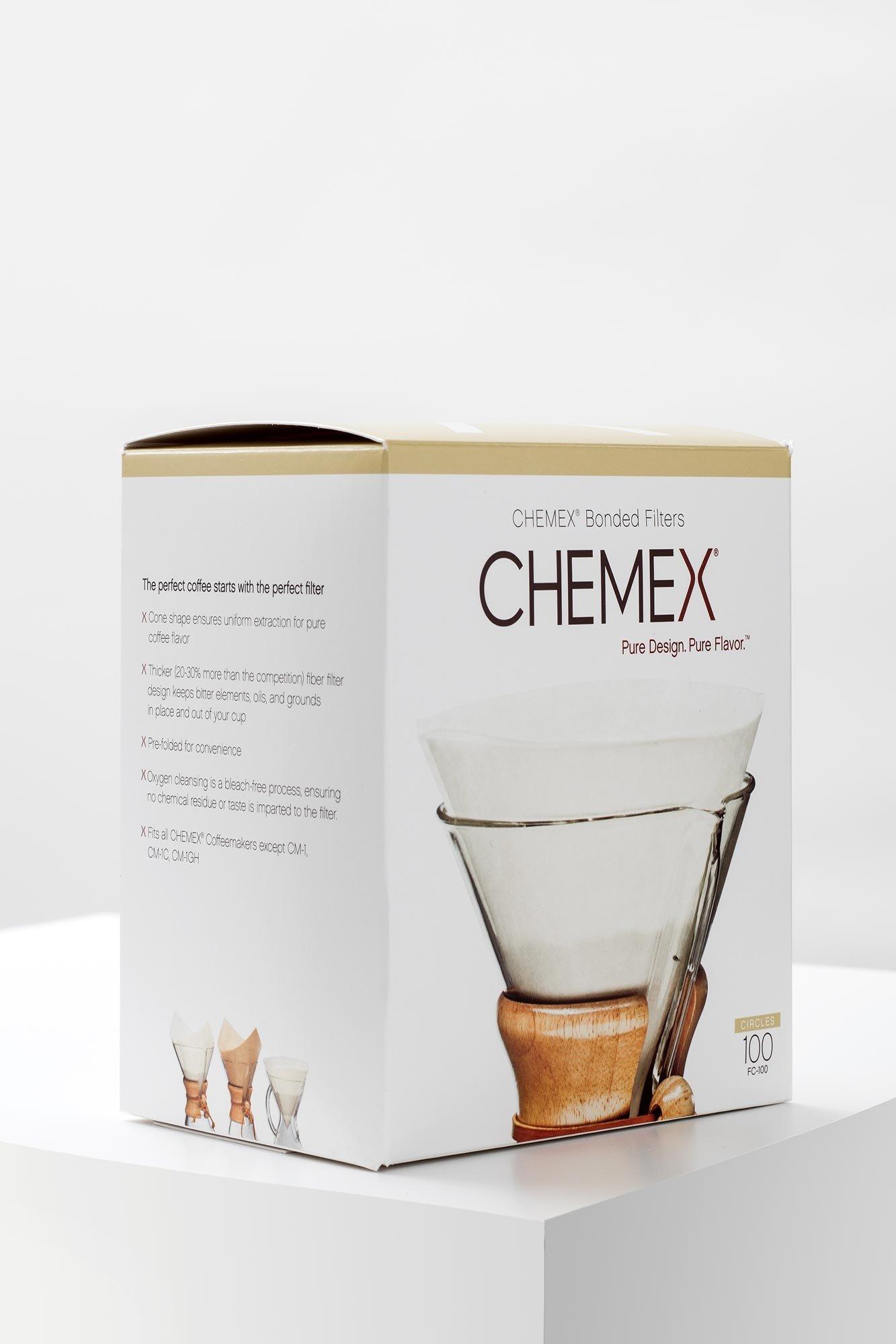 Chemex Filter für 6 8 Tassen 100 Stück