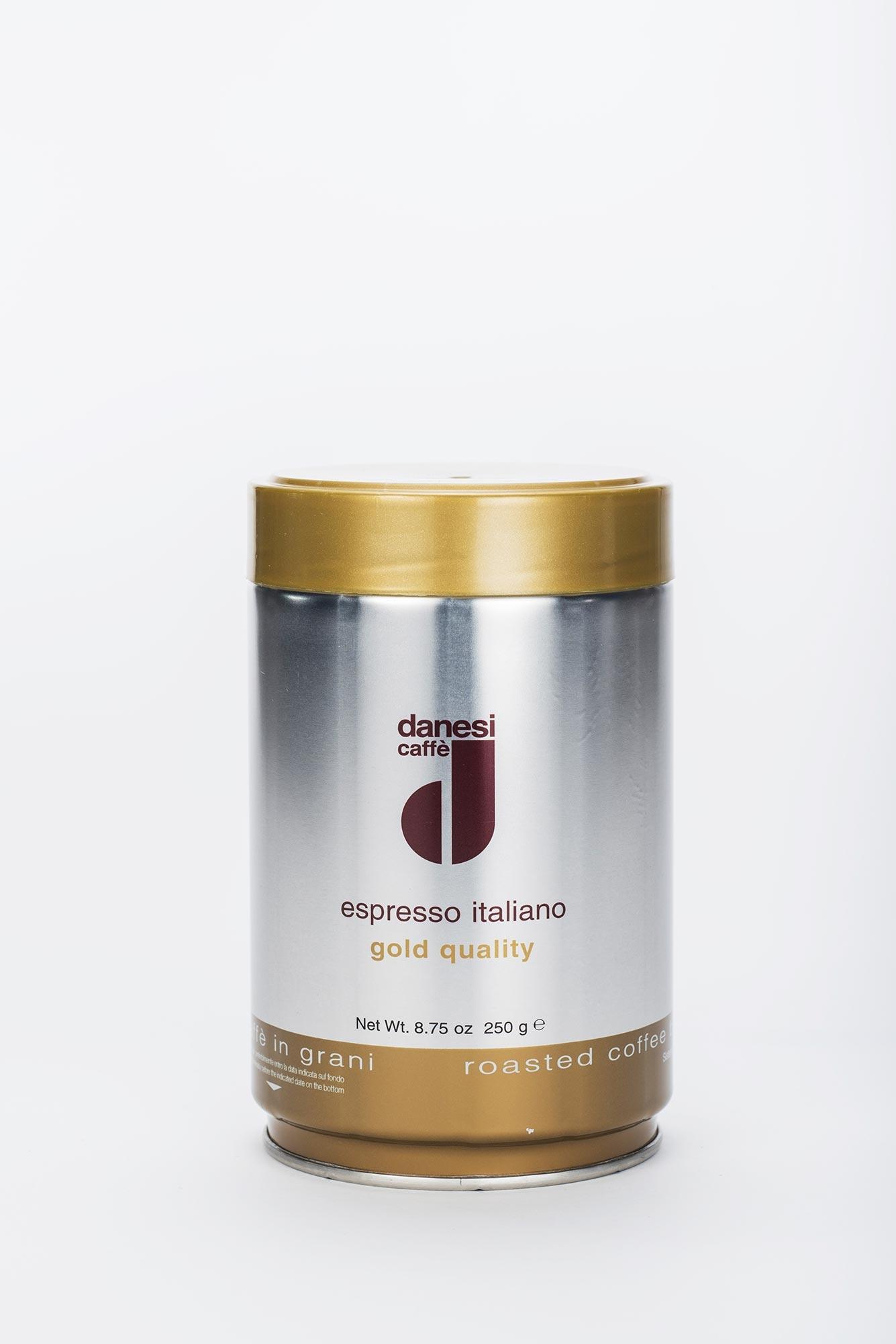 danesi caff espresso oro 250g bohnen online kaufen roastmarket. Black Bedroom Furniture Sets. Home Design Ideas