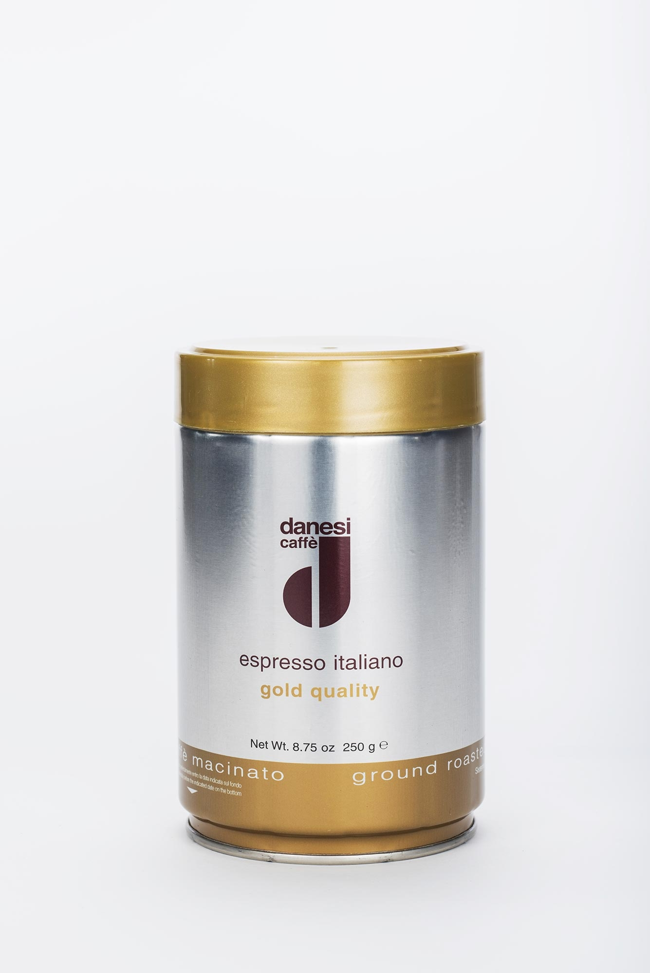 danesi caff espresso oro 250g dose gemahlene bohnen online kaufen roastmarket. Black Bedroom Furniture Sets. Home Design Ideas