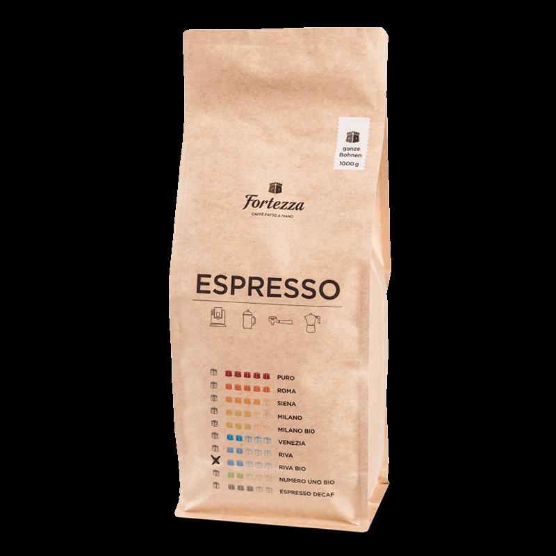 Fortezza Espresso Riva Bio 1kg