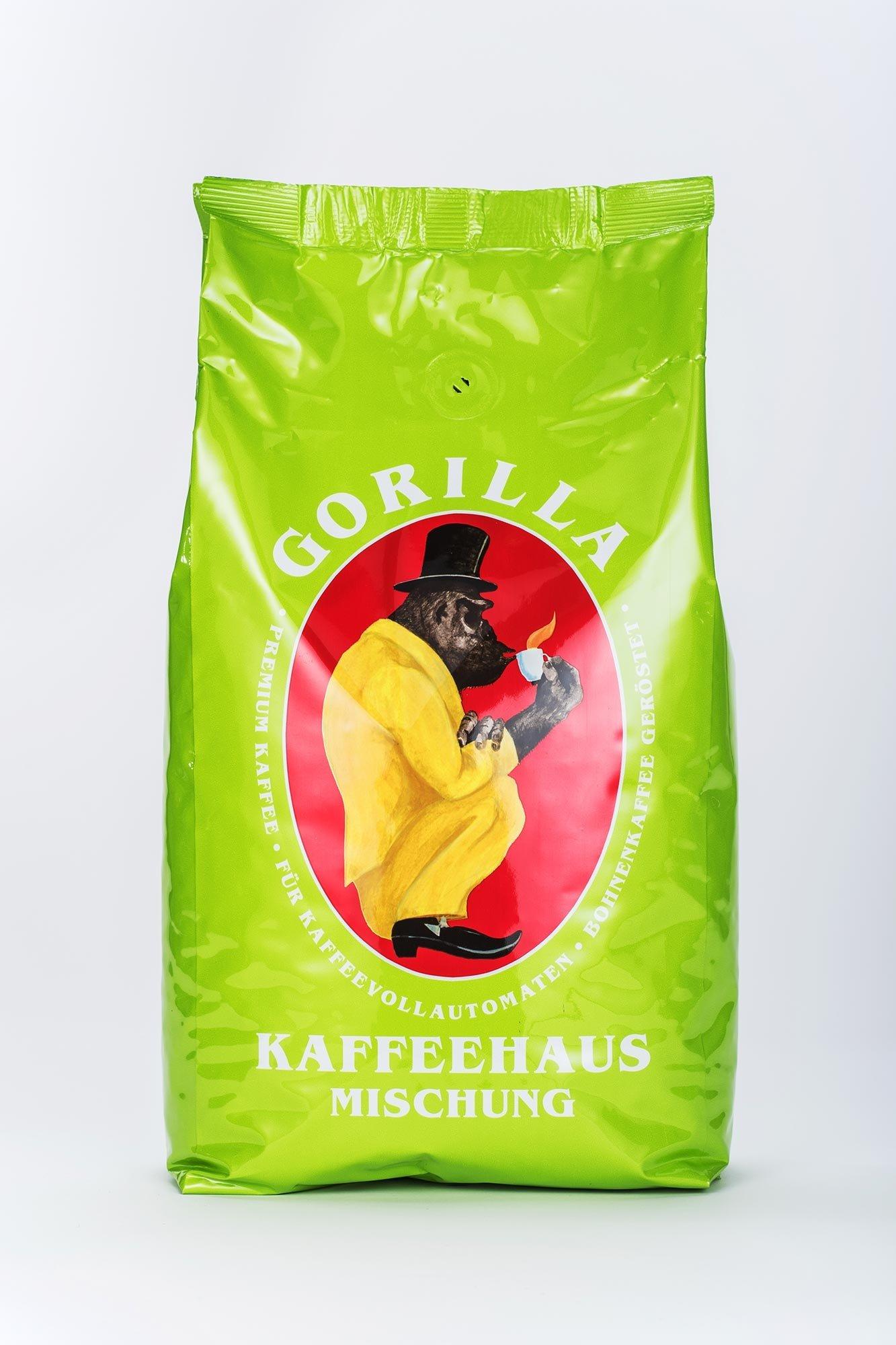 gorilla kaffeehaus 1kg online kaufen roastmarket. Black Bedroom Furniture Sets. Home Design Ideas
