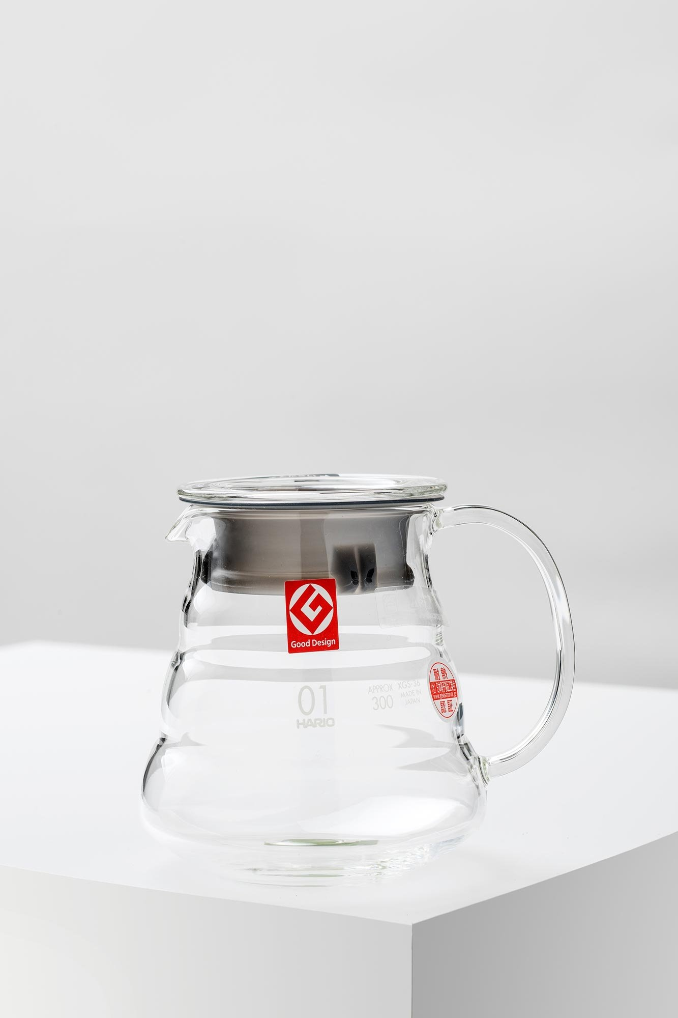 Hario V60 Range Server Kaffeekanne Glas 360ml