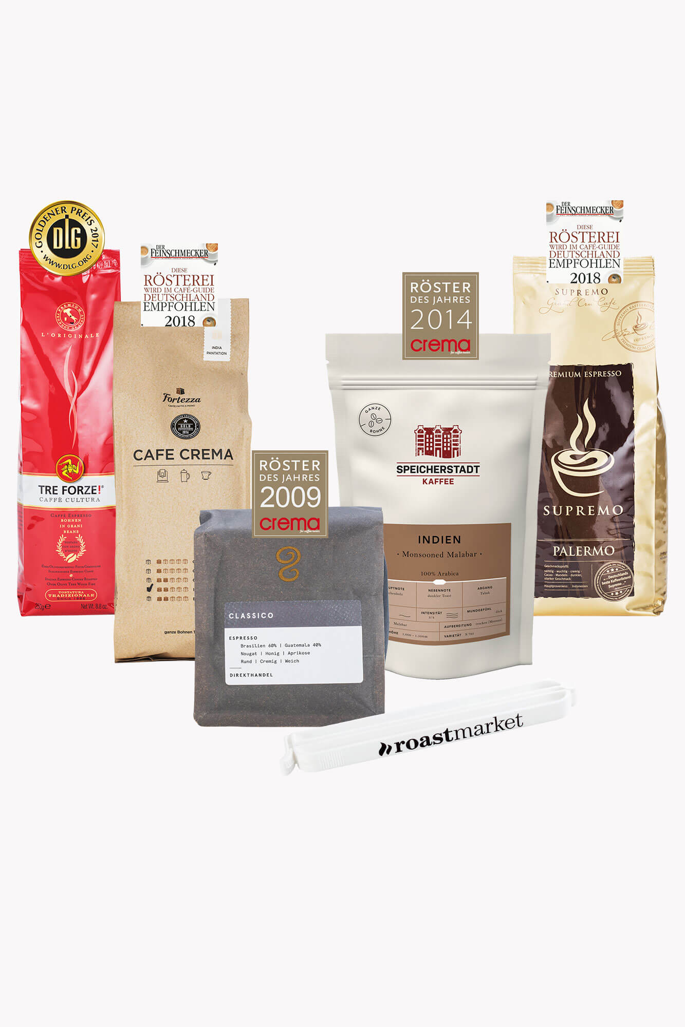 Aus unserer Werbung Probierpaket: Kaffees der T...