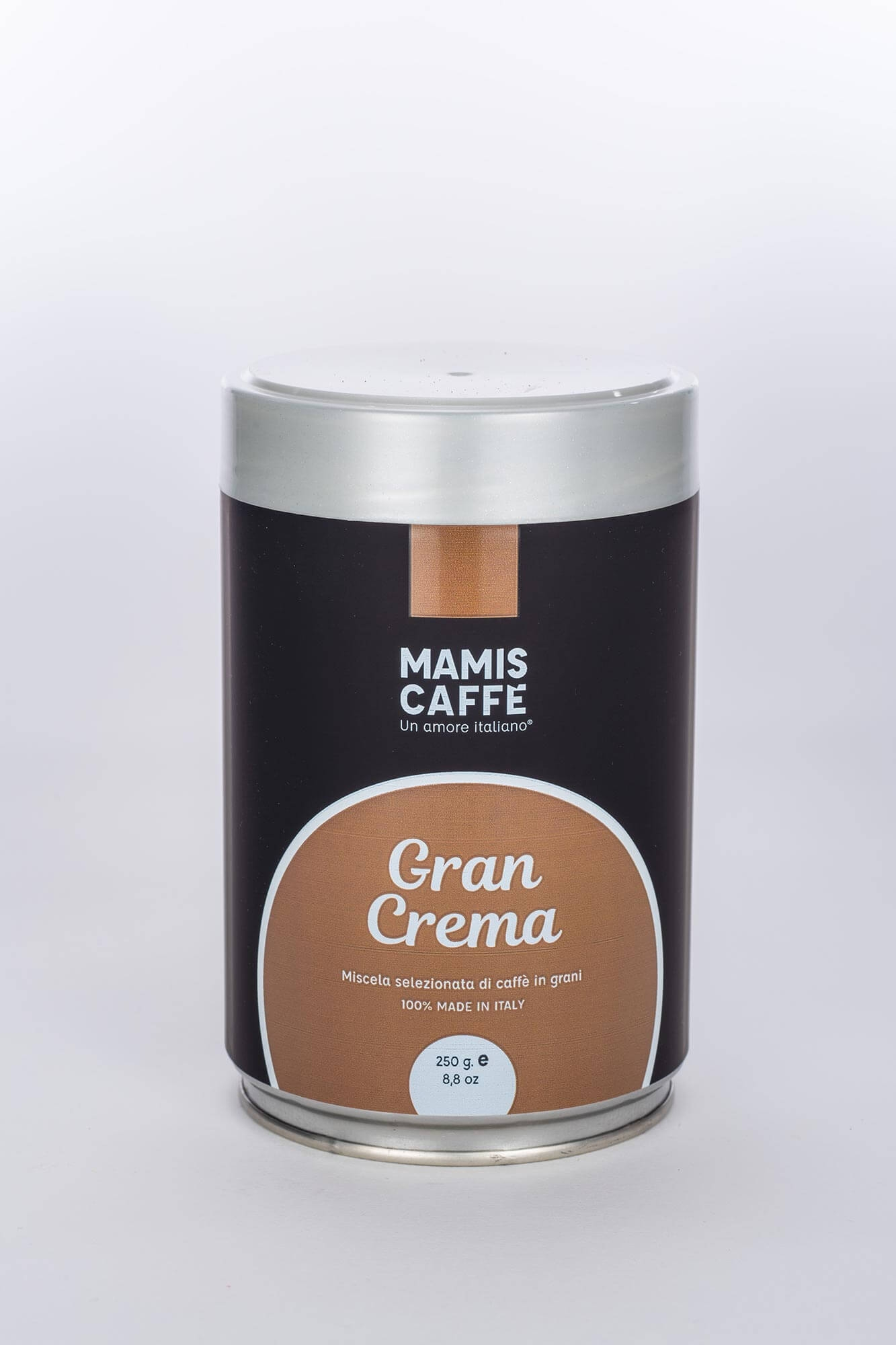 mamis caffe gran crema 250g dose online kaufen roastmarket. Black Bedroom Furniture Sets. Home Design Ideas