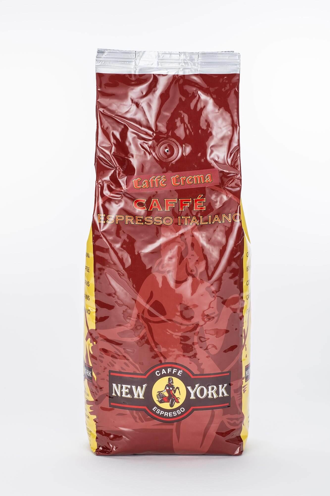 new york supercrema 1kg bohnen online kaufen roast market. Black Bedroom Furniture Sets. Home Design Ideas