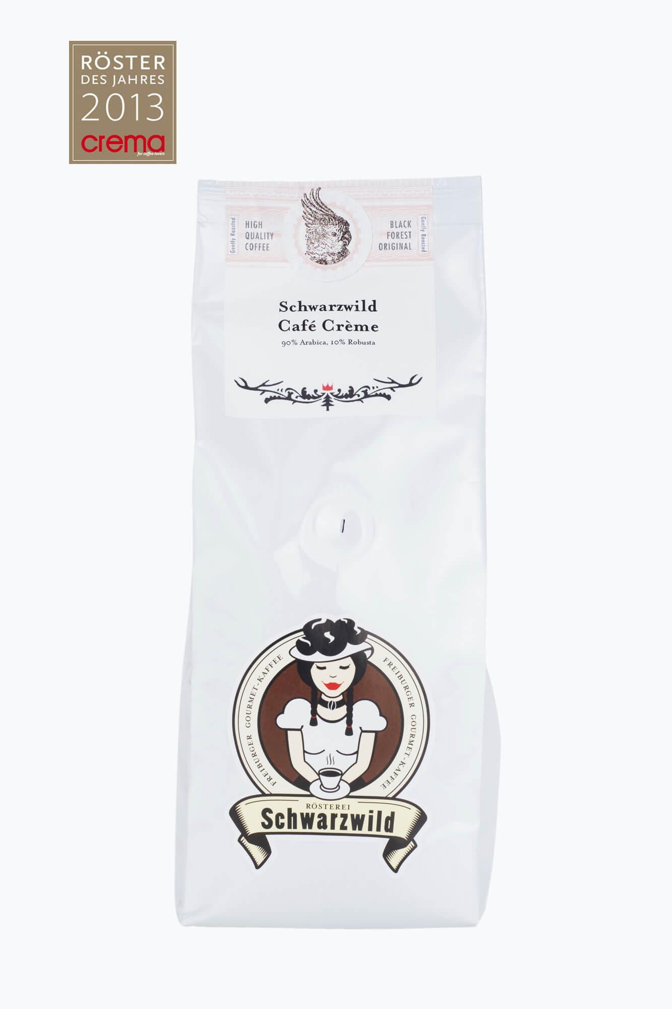 schwarzwild caf creme bohnen online kaufen roastmarket. Black Bedroom Furniture Sets. Home Design Ideas