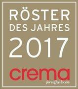 CREMA Röster des Jahres 2017