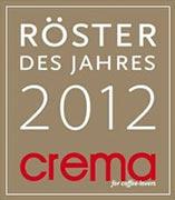 CREMA Röster des Jahres 2012