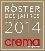 CREMA Röster des Jahres 2014