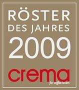 CREMA Röster des Jahres 2009