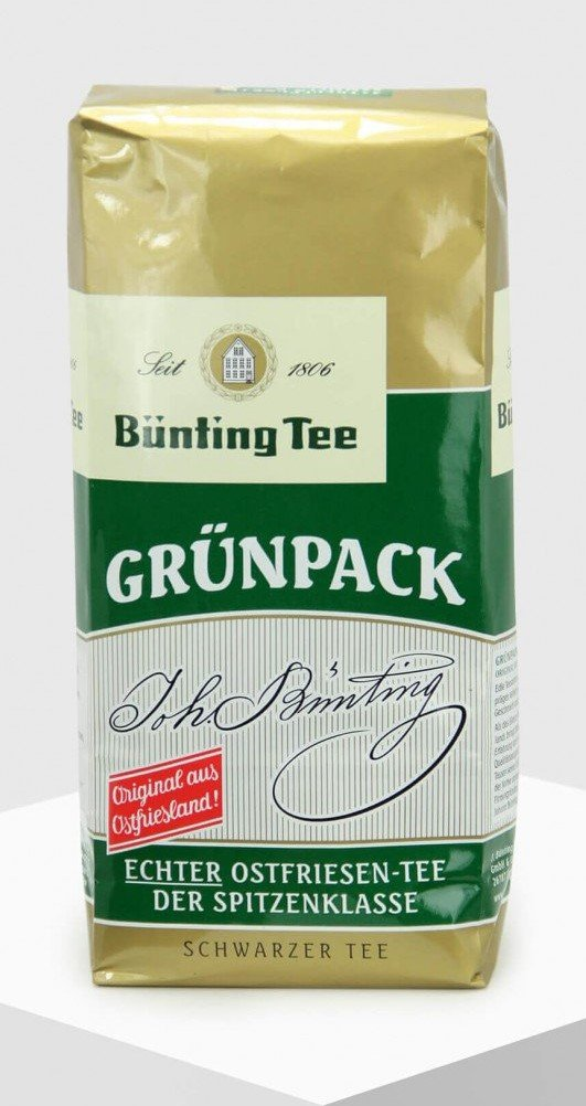 Bünting Grünpack 500g loser Tee