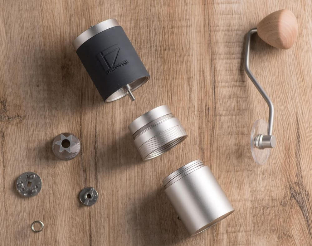 Einzelteile 1Zpresso JE-Plus