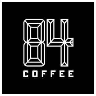 84 Coffee Logo