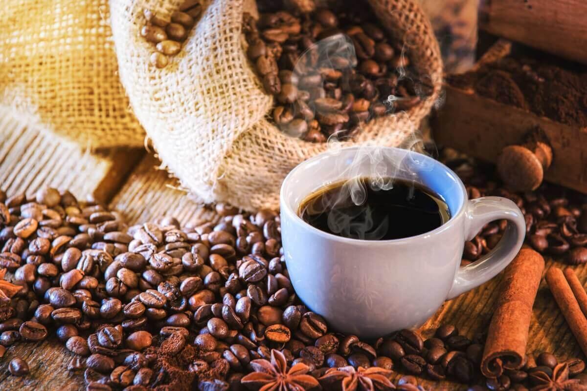 Afrika Kaffeebohnen