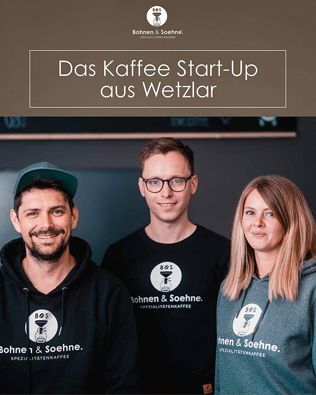 Bohnen und Soehne Gründer des Kaffee Startups