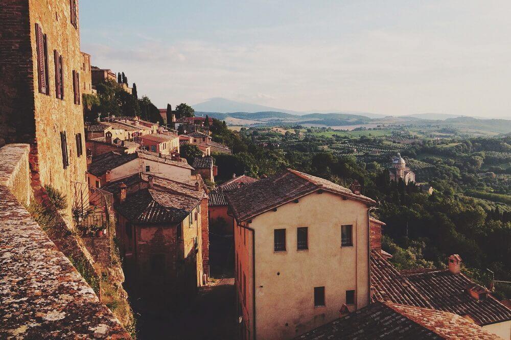 italienische Stadt