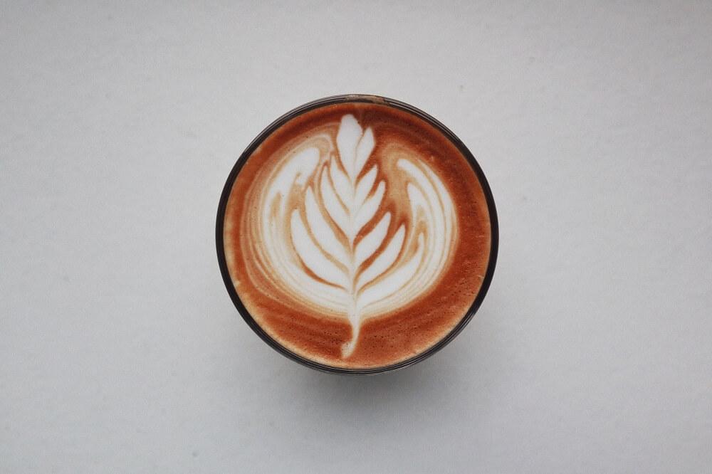 Leonardo Kaffeetasse mit Latte Art