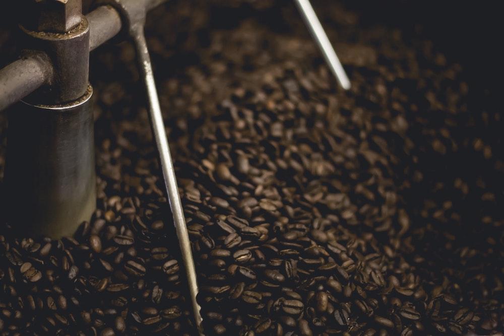 Mauro Kaffee in der Trommelröstung