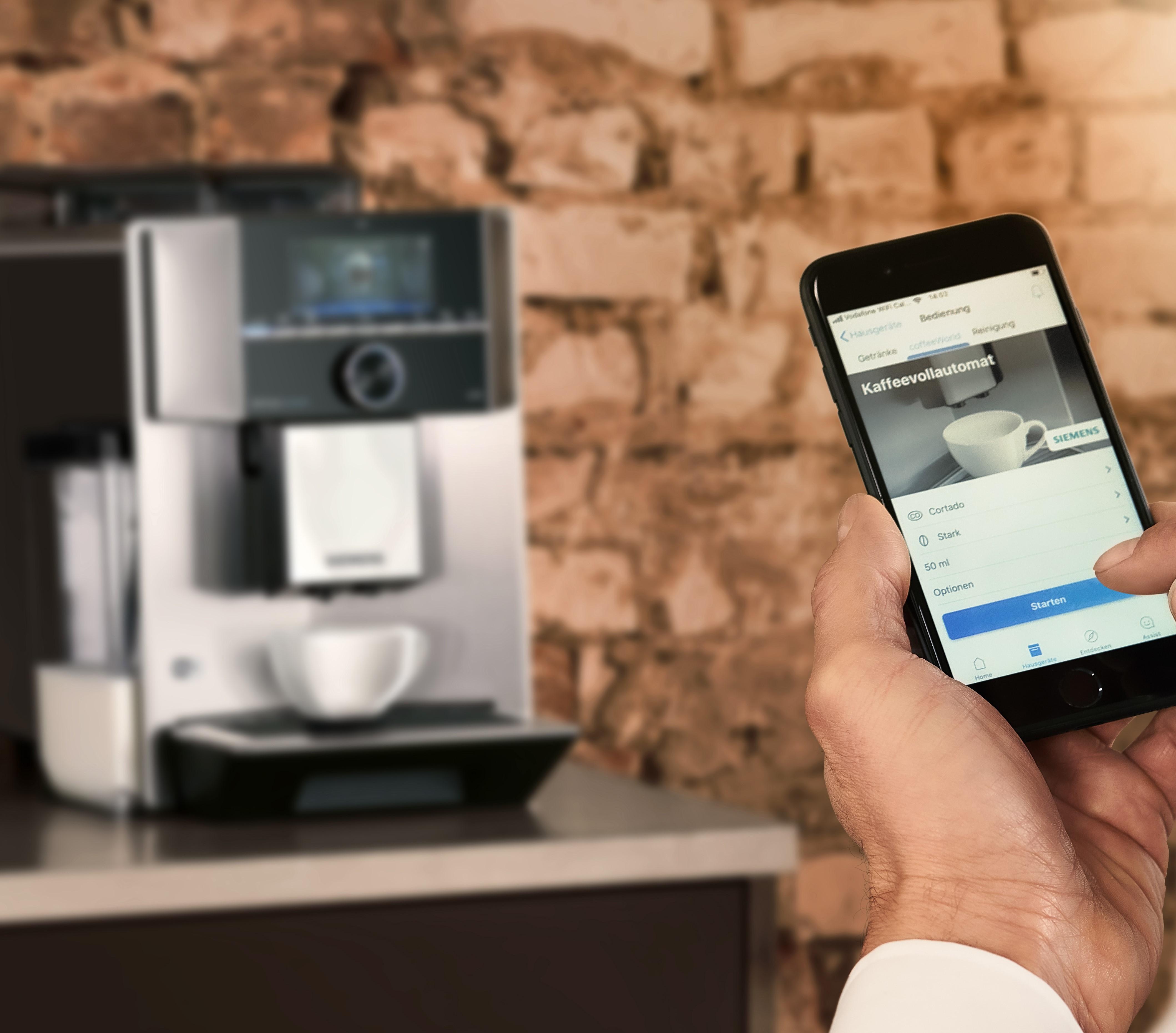 Siemens Vollautomat Digitale Steuerung