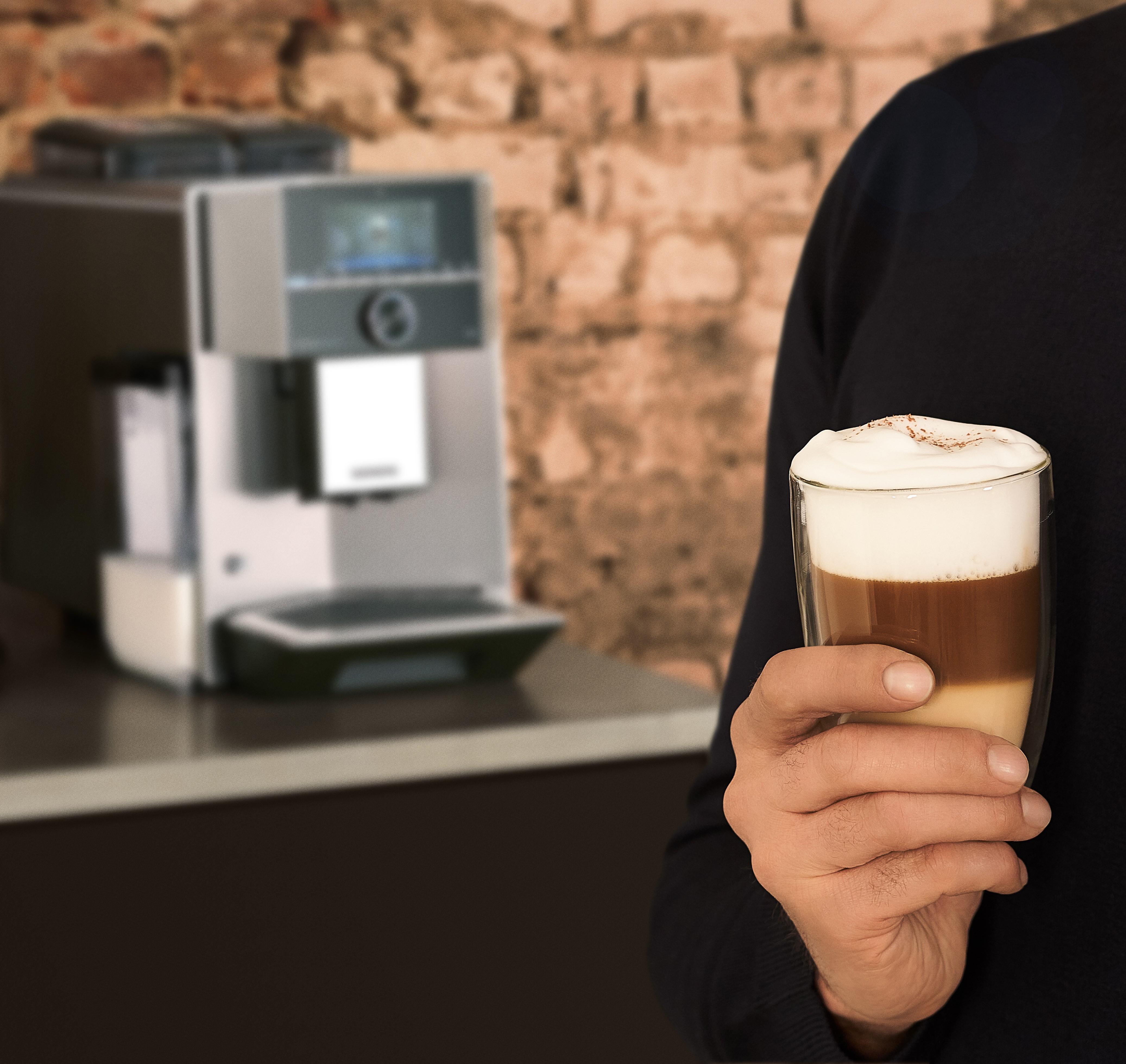Siemens Vollautomat Kaffee