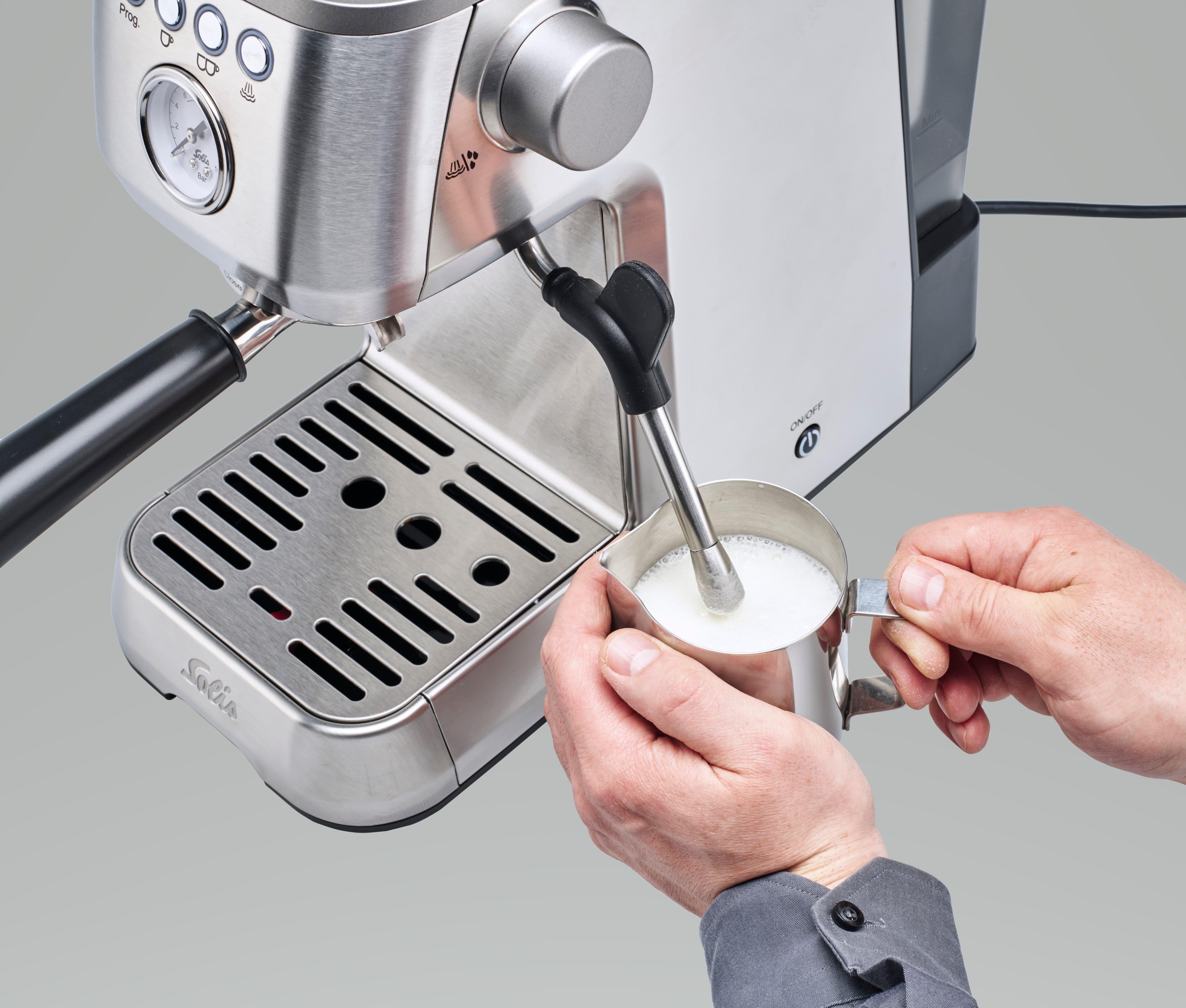 Solis Siebträgermaschine Barista Perfetta Plus, Silber Typ 1170