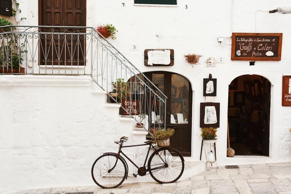Café in Italien