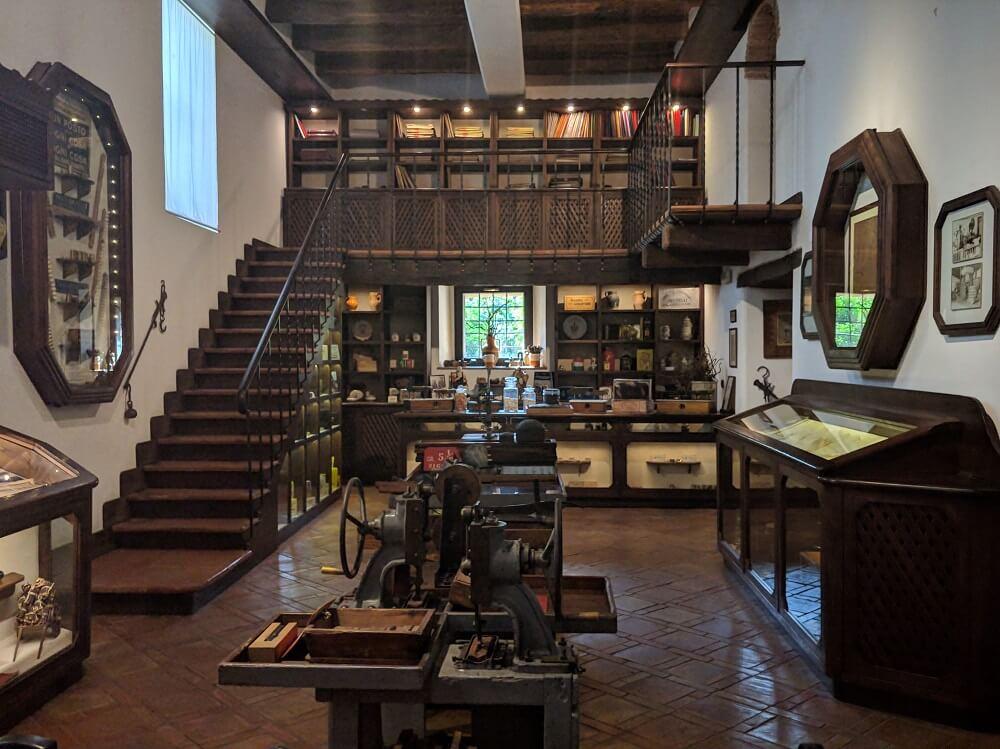Amarelli Lakritz-Museum in Italien