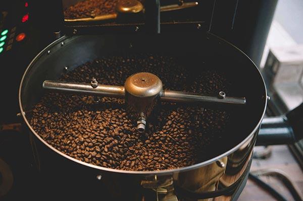 Röstung von Arabica Kaffee