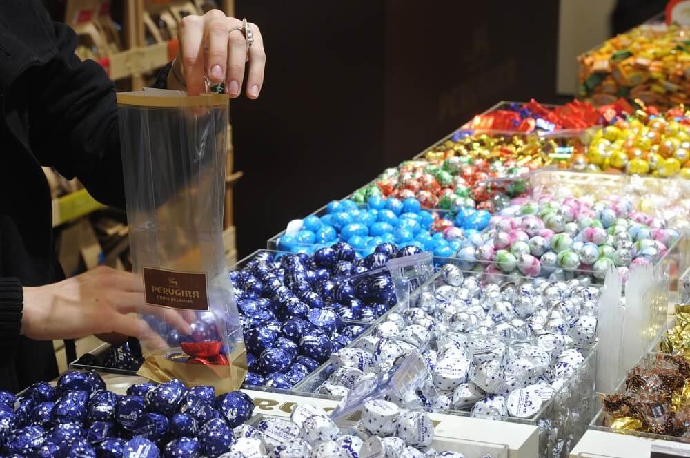 Baci Pralinen aus Schokolade