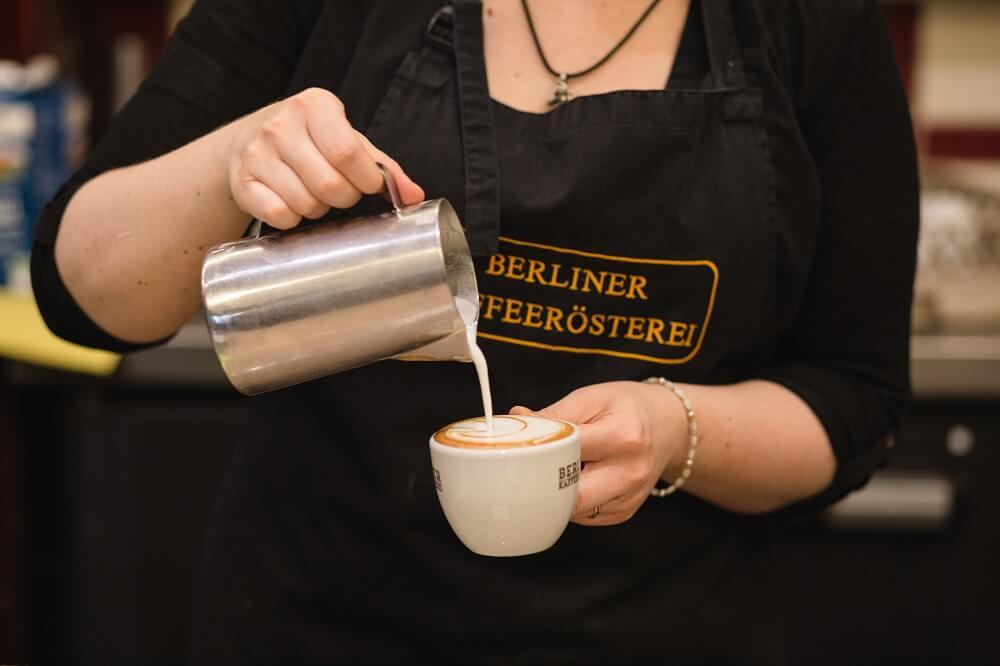 Berliner Kaffeerösterei Café Service