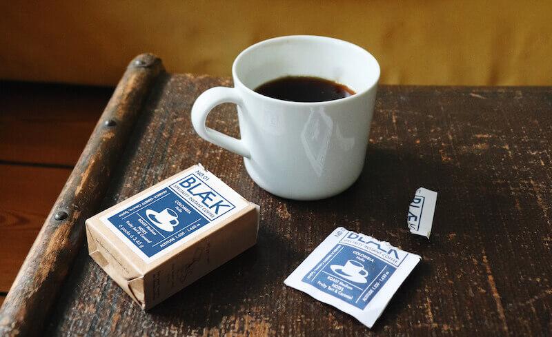 Blaek Coffee UG Instantkaffee Coffee No. 1 Kolumbien in Box