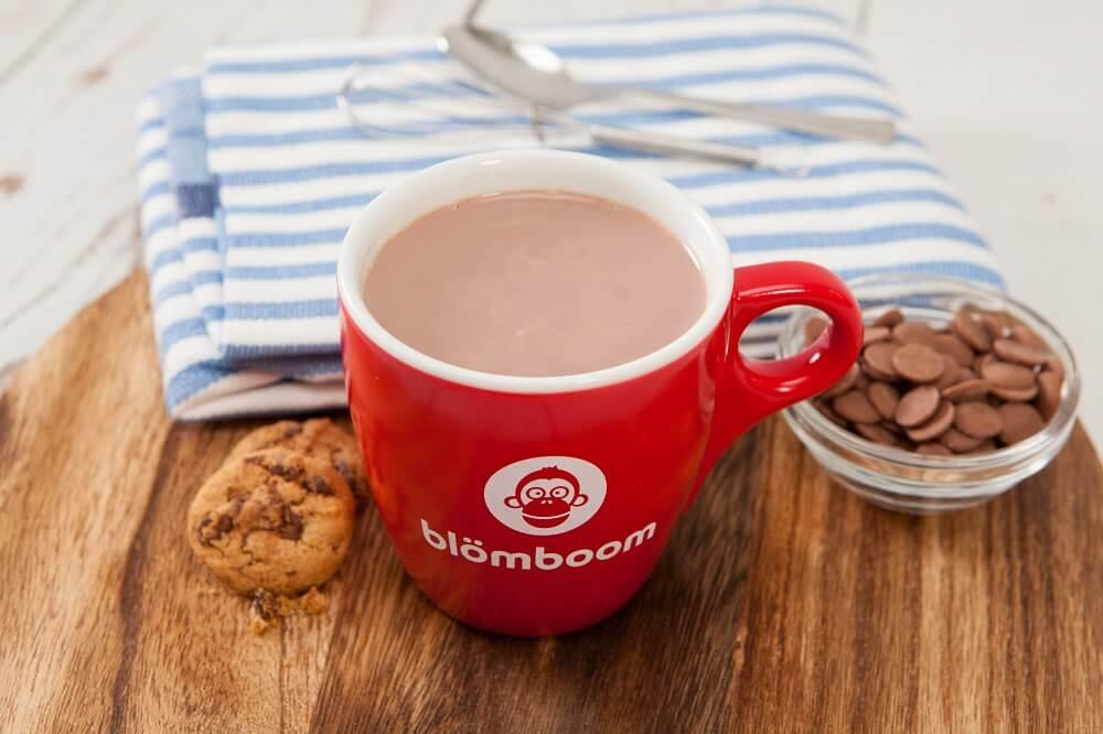 Blömboom Hot Chocolate Drops und Cookies