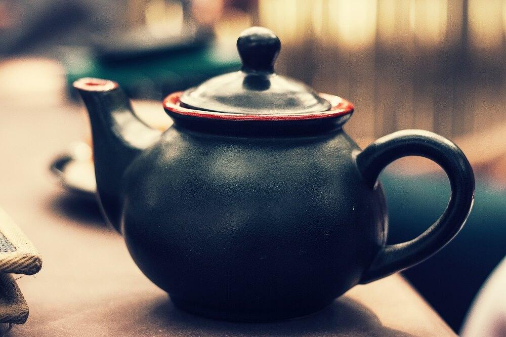 Teezubehör doppelwandige Teekanne