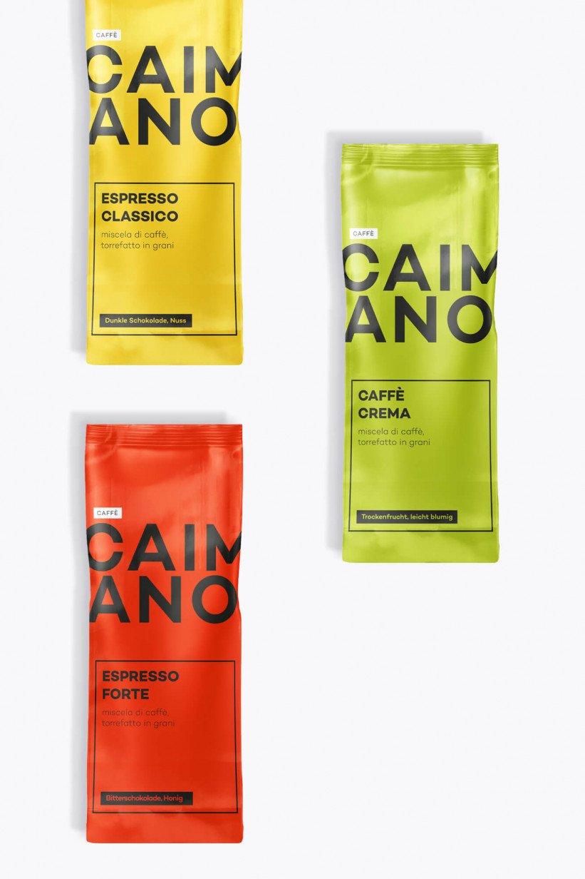 Caffe Caimano proierpaket