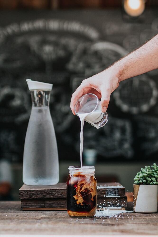 Cold Brew im schönen Glas