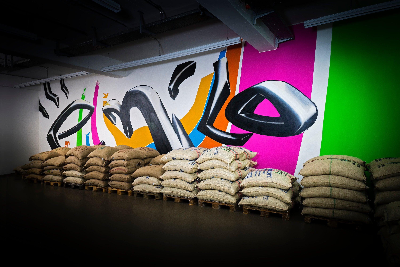Kaffeerösterei emilo Graffiti