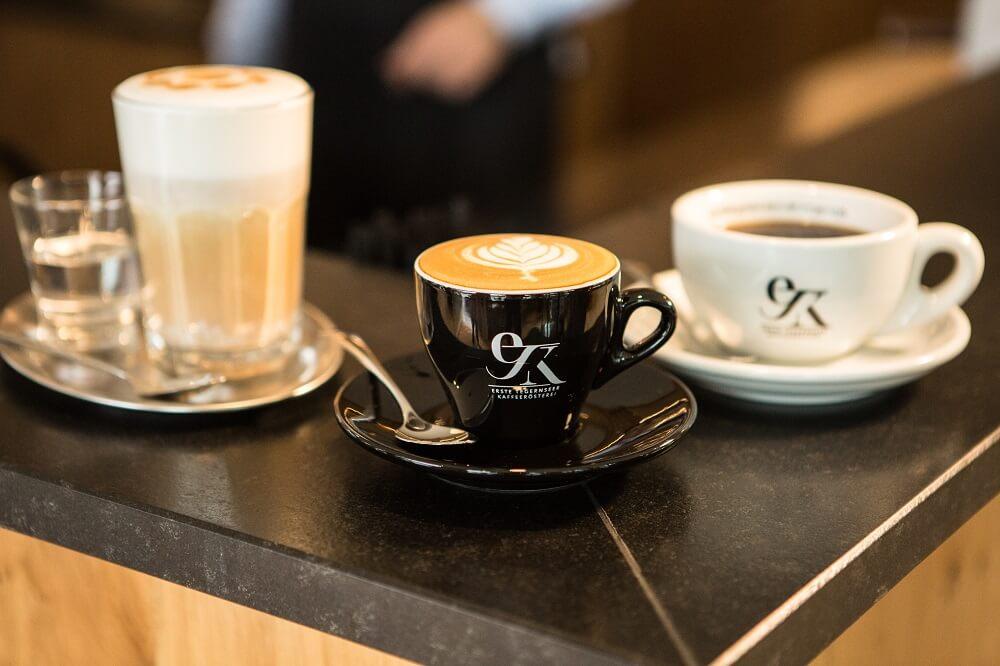 Erste Tegernseer Kaffeerösterei Kaffeespezialitäten