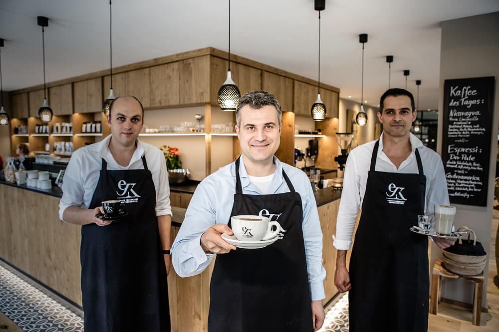 Erste Tegernseer Kaffeerösterei Team