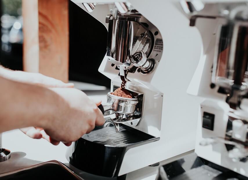 Espressomaschine Weiß