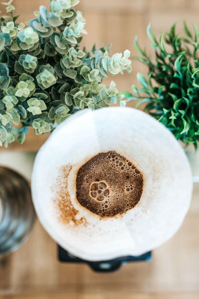 Aufguss von Filterkaffee