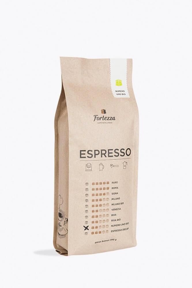 Fortezza Espresso Numero Uno Bio