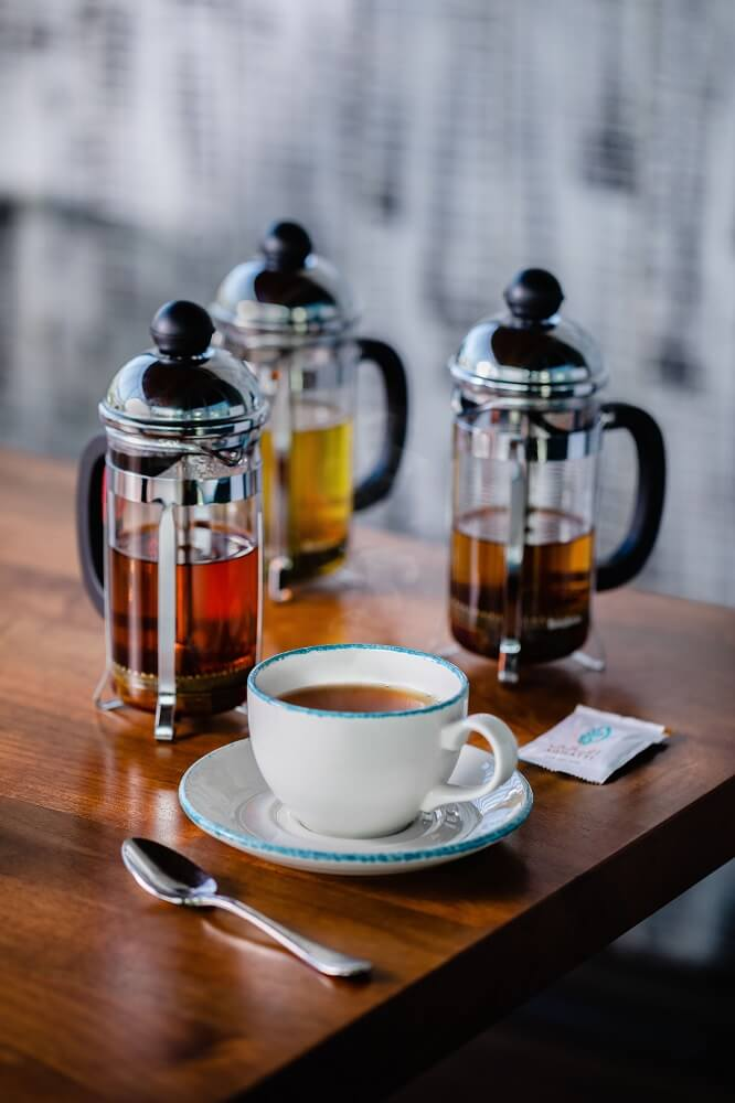 Köstliche Tees von Goldmännchen