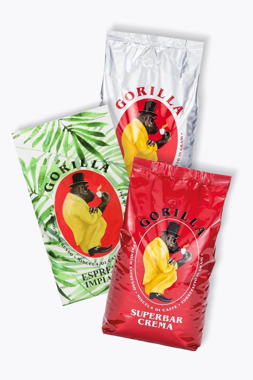 Gorilla Kaffee Probierpaket 3kg